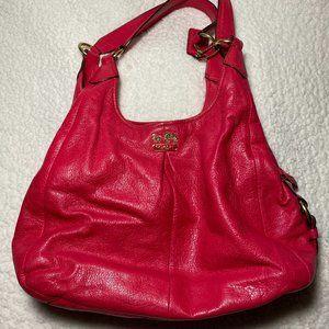 Coach Madison Maggie Leather Hobo Shoulder Bag